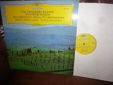 Mendelssohn Symphonies 4 5 Berliner Phil. Karajan DG 2530416, 1973