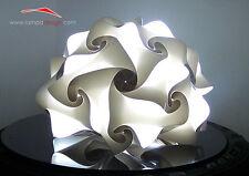 Lampada da terra o comò design moderno SPEDITO MONTATO colori a scelta o bianca