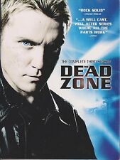 THE DEAD ZONE - Series 3. Anthony Michael Hall, Nicole de Boer (3xDVD BOX SET)