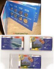 Coffret euro PAYS-BAS Mini BU 2002 Très rare 8 pièces 1 cent à 2 euros