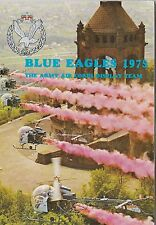 Jahrbuch Yearbook The Blue Eagles Army Helicopter Display Team 1975,selten,rare!