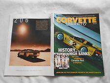 CORVETTE QUARTERLY-(MAGAZINE)-SPRING,2001-HISTORY ON THE HIGH BANKS