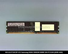 Samsung M312L5720CZP-CCC DDR 2GB PC-3200 Reg ECC 400Mhz 2Rx4 RAM Memory