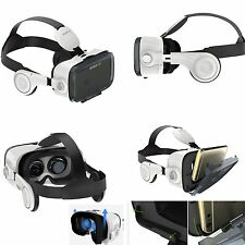 "3D VR Headset Virtual Reality Glasses Video Box Headphone for 4-6"" Smartphones"