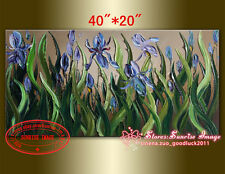 Handmade Floral Painting on Canvas Landscape wall decor Palette Knife /NO Frame