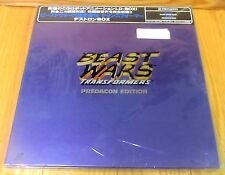 BEAST WARS TRANSFORMERS PREDACON EDITION  LASERDISC BOX SET NEW & SEALED