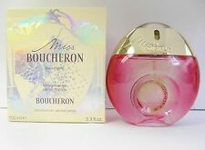 Miss Boucheron Eau Legere 100 ml 3.3 oz Limited Edition Spray Women's New Boxed