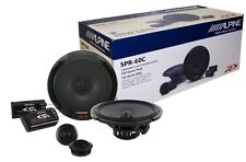 "Alpine SPR-60C 6.5"" Component Car Speaker/ 6-1/2-inch Car Audio Speaker Type R"