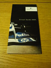 ++  reduced ++ BMW WILLIAMS CIRCUIT GUIDE  BROCHURE 2004 jm