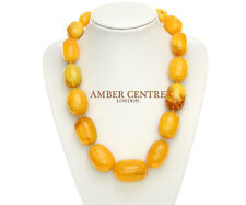 Antique German Very Rare Amber Bead Necklace 241grams- A0131 RRP£29199