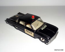 Vintage DINKY TOYS #258 Ford Fairlane Police Car 1:43