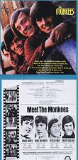 "The Monkees ""The Monkees"" 1966! ""Last train to Clarksville""! 3 Boni! Neue CD!"