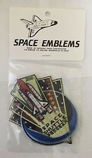 "ORIGINAL NASA SPACE SHUTTLE PROGRAM 1981-2011 - 5"" AB Emblem PATCH MINT JSC KSC"