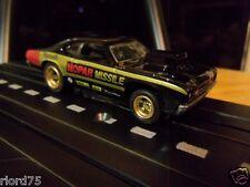 """Mopar Missile"" Plymouth Duster Custom Drag HO Slot Car NOS 4 Gear"