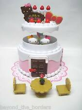 Sanrio Hello Kitty & Mimmy Birthday Cake House – new! (slightly damaged box)