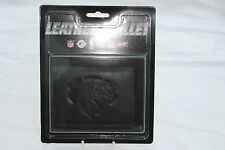 New York Knicks Black Leather Tri-fold Wallet Offical NBA Licenced Product