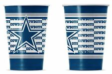 Dallas Cowboys Disposable Paper Cups - 20 Pack [NEW] NFL Party Tailgate