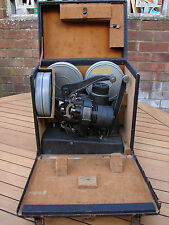 Bell & Howell Filmo 129 Silent Movie 16mm Projector 1930s Art Deco Global Ship