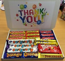 Large THANK YOU chocolate hamper box gift set teacher friend bargain