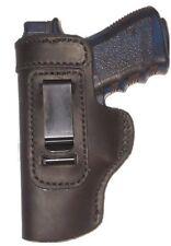 FN FNP FNX FNS 9 40 Leather Gun Holster LT RH OWB Black