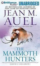 THE MAMMOTH HUNTERS unabridged audio book on CD by JEAN M. AUEL (32 Hours)
