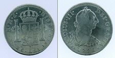 MEXICO 1772 INVERTED FM CHARLES II 8 REALES TOP QUALITY (cod.G.087)
