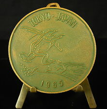 Médaille Frog Tokyo Japan 1965  XXIII congress of physiological sciences Medal