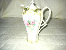 ANTIQUE  R S PRUSSIA CHOCOLATE POT