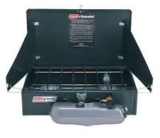 Coleman Double Burner Unleaded Duel Fuel Petrol Stove - fishing , camping