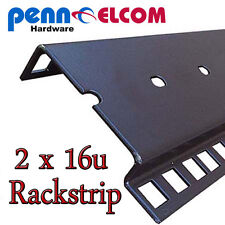 16u Double Rackstrip,data strip,servers rack strip flightcase