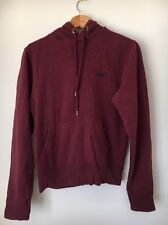 "SC&CO Size 36"" XS Wine Cotton Hoodie  T6376"