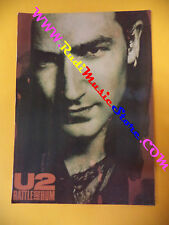 CARTOLINA PROMOZIONALE POSTCARD U2 Rattle and hum 10x15 cm no* cd dvd lp mc vhs
