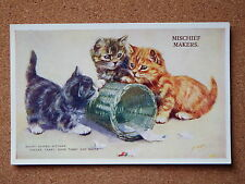 R&L Postcard: M Gear, Mabel Gear Cat Series, Valentine's 1874 Ginger Tabby etc