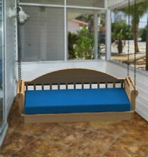 Hanging Porch Bed Woodworking DIY Plans - Build it Yourself