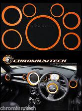 Mk2 Mini Cooper / S / Uno / R55 R56 R57 Cabrio R58 R59 ORANGE Interior Kit Anello