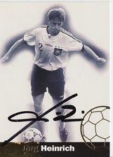 Jörg Heinrich DFB WM 1998 Panini Cards TOP Orig. Sign. +A27592