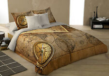 OLD WORLD NAVIGATION Duvet Covers Set for Kingsize Bed Artwork Nautical, Sailing