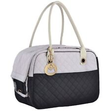 New listing Pet Carrier Dog Cat Travel Tote Stylish Small Puppy Handbag Lined Lightweight