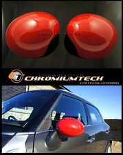 RED Mirror Cap Covers for 2014 up MK3 MINI Cooper/S/ONE F55 F56 F57 LHD Model