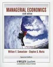 Managerial Economics, Sixth Edition for CSLB, Marks, Stephen G., Samuelson, Will