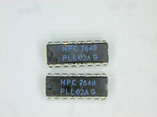 "PLL02AG  ""Original"" NPC  16P DIP IC  2  pcs"