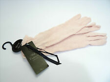 SAVE SAVE SAVE - NEW CASHMERE & ANGORA SOFT PINK GLOVES - £4.99 WITH 30,000+ F/B