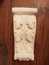 2 x Architectural leaf ornate plaster decor corbel wall hanging decor plaque new