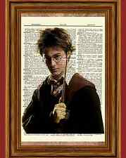 Harry Potter Dictionary Art Picture Poster Daniel Radcliffe Collectible Gift