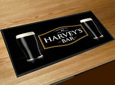 Personalised Welcome Stout label bar runner Pubs Clubs & Cocktail Bars