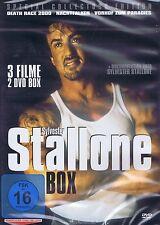 DOPPEL-DVD NEU/OVP - Sylvester Stallone Box - 3 Filme - Death Race 2000 u.a.