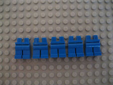 Five Blue Lego Mini Lower Body Parts/ Legs/ Trousers Brand New