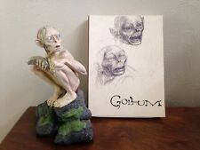 SMEAGOL Two Towers Gollum Limited Collectible Figure DVD Set LOTR