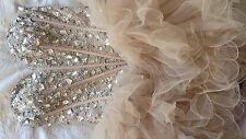 Sherri Hill Formal Dress, Size 2 Nude/Pink