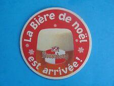 Beer Pub COASTER ~*~ Kronenbourg La Biere de Noel ~ Obernai, France Brewery Ales